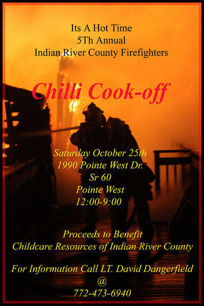 Indian River County Firefighters Chili Cook Off 2008