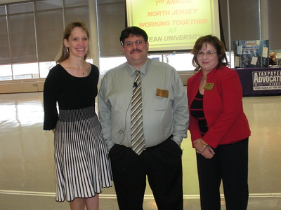 Sarah Fields of E. Martin Davidoff & Associates with Glen Gizzi and Filomena Mealy of IRS Stakeholder Liaison