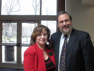 Senior Stakeholder Liaison Filomena Mealy with E. Martin Davidoff of E. Martin Davidoff and Associates