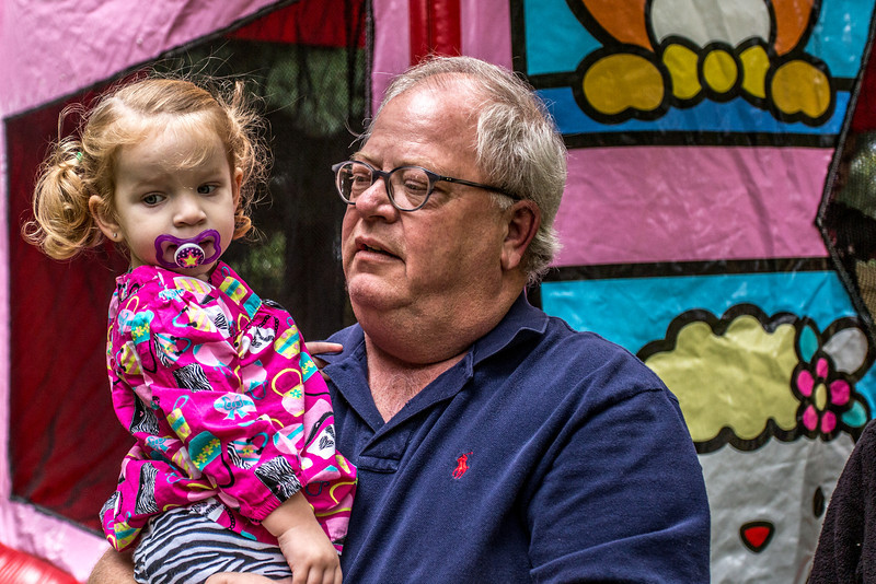 Charlotte & her grandfather