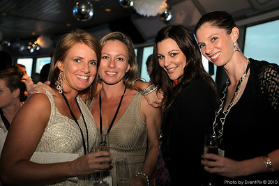 Samantha Fieliciano, and Samantha Taylor-Bloodworth (Doltone House), Jacqui Bower and Cleo Mitchell (Decorative Events)