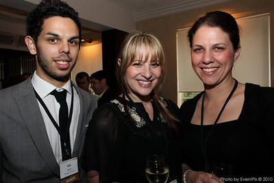 Iain McColl (The Pavilion), Sophie Hendrix (The Pavilion) and Tina Belcev (Trippas White)
