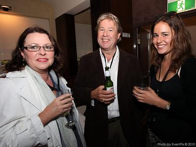 Elizabeth Taylor, Stephen Choularton and Amanda Choularton (all from Organic Food Markets)