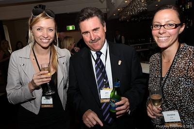 Anoushka Hirst (GPJ Australia), John Spencer (Luna Park) and Christina Prior (GPJ Australia)