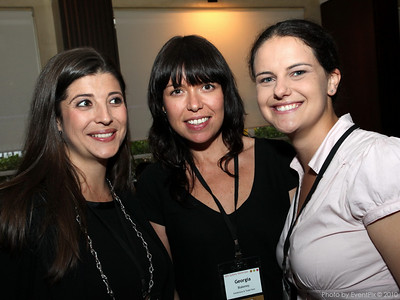 Elizabeth Moody (Sergeant's Mess), Georgia Blakeney (ETF) and Megan Bale (Avocado Group)