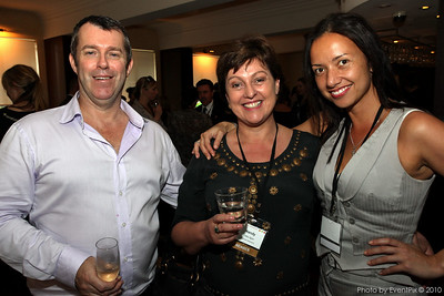 Michael Fahey (Civic Hotel), Mandy Foley-Quin (Stedmans Hospitality) and Tulia Whippy (Pearl Catering)