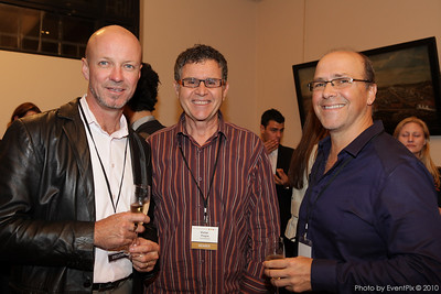 Paul Davison (SCEC), Victor Pisapi and James Bahr (Victors Food)