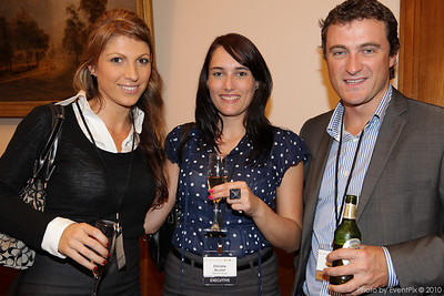 Rebecca Berrigan, Christine Micallef (Doltone House), Ryan Morris (IML Worldwide)