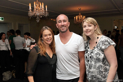 Victoria Doidge (SOH), Jeremy Garling (ISES Chapter President), Emma Sturgiss (Tourism Australia)
