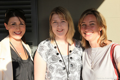 Kellie Howard (ID Australia), Emma Sturgiss and Phillipa Cocks (Tourism Australia)