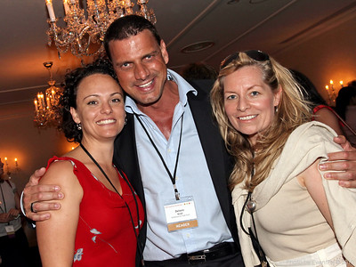 Felicity Zadro (Zadro Communications), Delwin Kriel (ETF), Andi Lovegrove (Lovegrove Productions)
