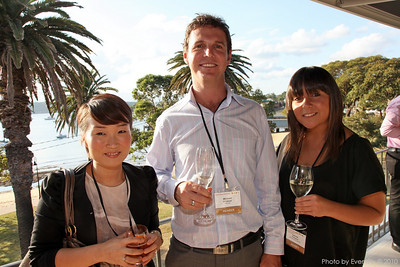 Amy Oh (OPT Venue Management), Michael O'Connor (Merivale), Lauren Filocamo (OPT Venue Management)