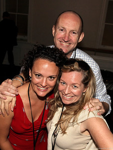 Felicity Zadro (Zadro Communictions), Peter Bliss (Business is Bliss),  Andie Lovegrove (Lovegrove Productions)