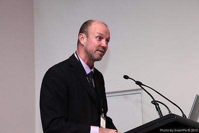 New chapter president Paul Davison