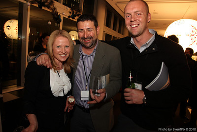 Terri-Ann Mikulic (Aust. Turf Club), Paul Ford and Craig Lapinskie (Your Event Solution)