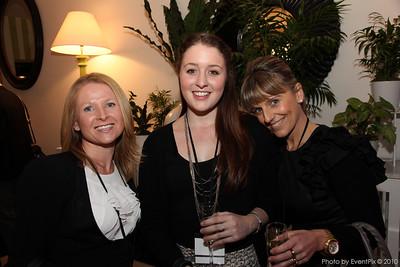Terri-Ann Mikulic (Aust Turf Club), Sonia Dunn and Frances Iacomo (Lehman & Associates)