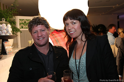 Jack Ellison (H2O Events), Georgia Blakeney (ETF)