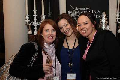 Samantha Fieliciano (Events Boutique), Jacqui Bower and Jada Bennett (Decorative Events)