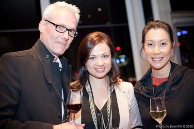 Kim Knudsen (Stedmans Hoaspitality), Lynleigh McPherson and Sarah Hine (Belinda Franks Catering)