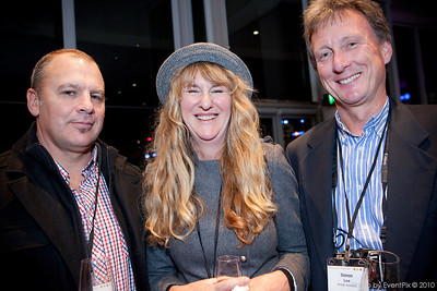 David Dunn (Power Distribution rentals), Kerri Ainsworth (The Designing Woman), Simon Lee (Airstar Australia)