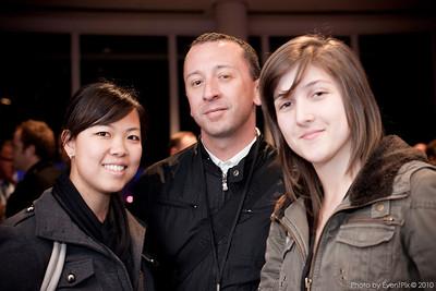 Kelly Chan, Stewart Kyle and Joana Oliveira (Stedmans Hospitality)