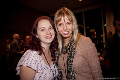 Gwen O'Toole (Spice Mag), Nadine Lafleur (Zadro Communications)