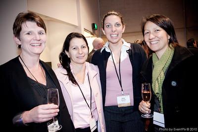Kathy Savill (Merivale), Marena Cosmas (Dockside), Billie Wayman (Merivale), Tina Eggers (Dockside)