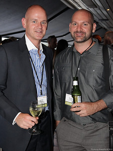 Michael O'Rourke and Nicholas Hartley (Bangarra dance theatre)