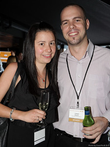 Laura Rodrigues (The Cusine Group), Lionel Branch (BranchOut Events)