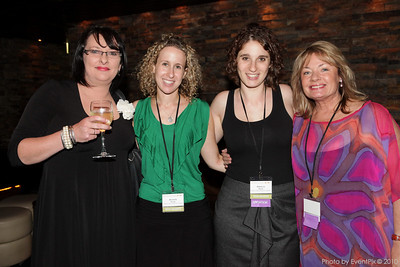 Carolyn Dodds (Cure Our Kids), Michelle Dexlar and Rebecca Havas (Sydney Children's Hospital Foundation), Paula Duncan (Pula Duncan Promotions)