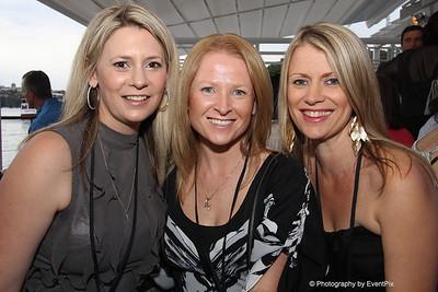 Jenny Verus (SCEC), Terri-Ann Mikulic (Australian Turf Club), Toni McAllister (SCEC)