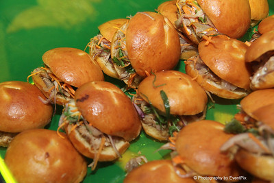 Vietnamese pork rolls, pate, slaw