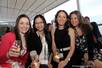 Alexandra Robertson, Shelley Zhu, Felicity page, Christina Rea (Reed Travel Exhibitions)