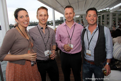 Billie Wayman (Merivale), Carlo Huber and Arnold Huber (European Catering), Mark Magennis (Decorative Events)