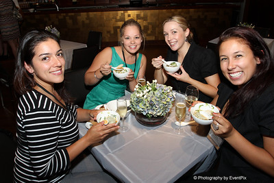 Karina Diez and Amanda Jannar (Canterbury City Council), Liz Dalton and Emma Gustafsson (Flavours Catering + Events)