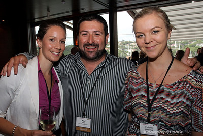 Amanda Lovett (Moreton Hire), Paul Ford (Your Event Solutions), Felicity Hardwick (Moreton Hire)