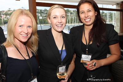 Terri-Ann Mikulic (Australian Turf Club), Liz Dalton and Emma Gustafsson (Flavours Catering + Events)
