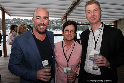 Jeremy Garling (Fourth Wall Events), Gill Minervini and Aneurin Coffey (City of Sydney)