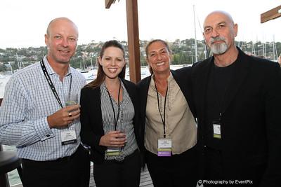 Paul Davison (SCEC), Laura Whittaker, Joan Loewensohn and Raphael Kahn (Zest)