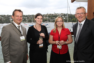 Adam Hanley (Amory Catering), Katy Terry and Therese Cuthbert (Luna Park Sydney), Ian Martin (Avocado Group)