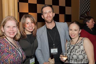 Liz Clarke and Katie McDonald (Staging Connections), Scott Bellingham (Funktionality), Jennifer Barnett (the Arthouse Hotel)