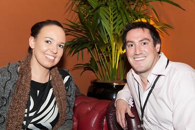 Jada Bennett (Decorative Events), Matt Cross (Cheeky Food Group)