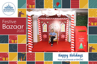 Dịch vụ in ảnh lấy liền & cho thuê photobooth tại sự kiện Festive Bazaar của trường ISHCMC | Instant Print Photobooth Vietnam at ISHCM Festive Bazaar 2020