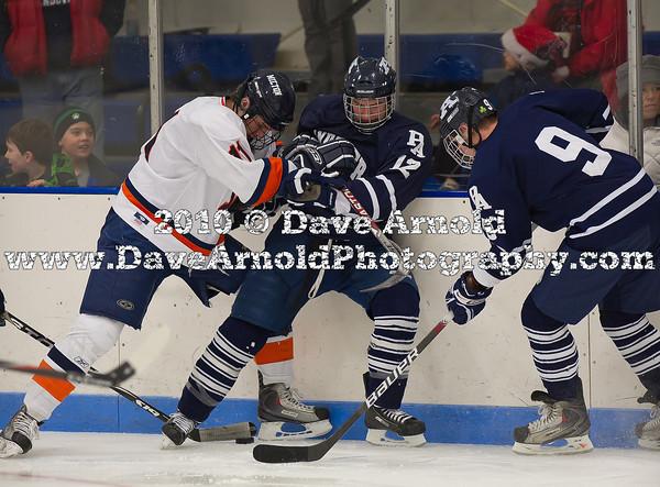 Michael Godwin (MA - 11) , Thomas Shannon (Andover - 12), Eddie Ellis (Andover - 9) - 12/17/2010 -  Flood-Marr Tournament - Milton rolled past Andover 7-0.
