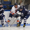 Jake Turrin (MA -3), Andrew Sullivan (Andover - 14), TJ Hickey (Andover - 24) - 12/17/2010 -  Flood-Marr Tournament - Milton rolled past Andover 7-0.
