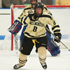 Jake Bolton (Westminster - 8) - 12/19/2010 -  Flood-Marr Championship Game - Westminster vs Kimball Union.  In a wild and controversial ending, Westminster edged Kimball Union 3-2 in double overtime.  A few minutes before the game winner, a KU goal was disallowed because of the net being dislodged.