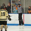 Referee - 12/19/2010 -  Flood-Marr Championship Game - Westminster vs Kimball Union.  In a wild and controversial ending, Westminster edged Kimball Union 3-2 in double overtime.  A few minutes before the game winner, a KU goal was disallowed because of the net being dislodged.