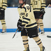 Brad Woodruff (Westminster - 6)  - 12/19/2010 -  Flood-Marr Championship Game - Westminster vs Kimball Union.  In a wild and controversial ending, Westminster edged Kimball Union 3-2 in double overtime.  A few minutes before the game winner, a KU goal was disallowed because of the net being dislodged.