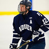 Nobles defeated Andover 7-3 on the opening day of the 2011 Flood-Marr Tournament on December 16, 2011, at Milton Academy, in Milton, Massachusetts.
