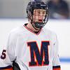 Chad Malinowski (Milton - 5) - 2012 Flood-Marr Round Robin - Milton Boys Varsity Hockey defeated Andover 4-3 on  December 14th, 2012, at Flood Rink in Dedham, Massachusetts.